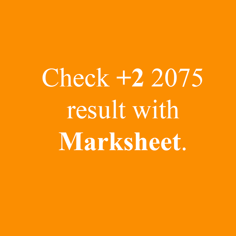 Check your NEB +2 results 2076 with mark sheet