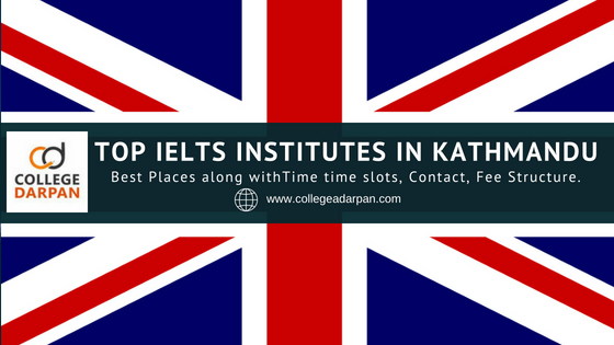 Top IELTS institutes in Kathmandu
