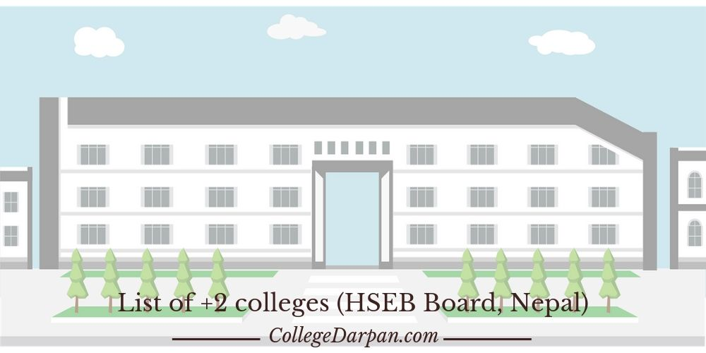 List of +2 colleges (HSEB Board, Nepal)