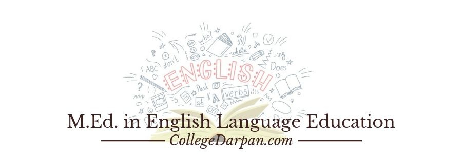 M.Ed. in English Language Education