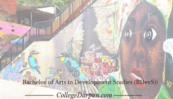 Bachelor of Arts in Development Studies (BDevS))