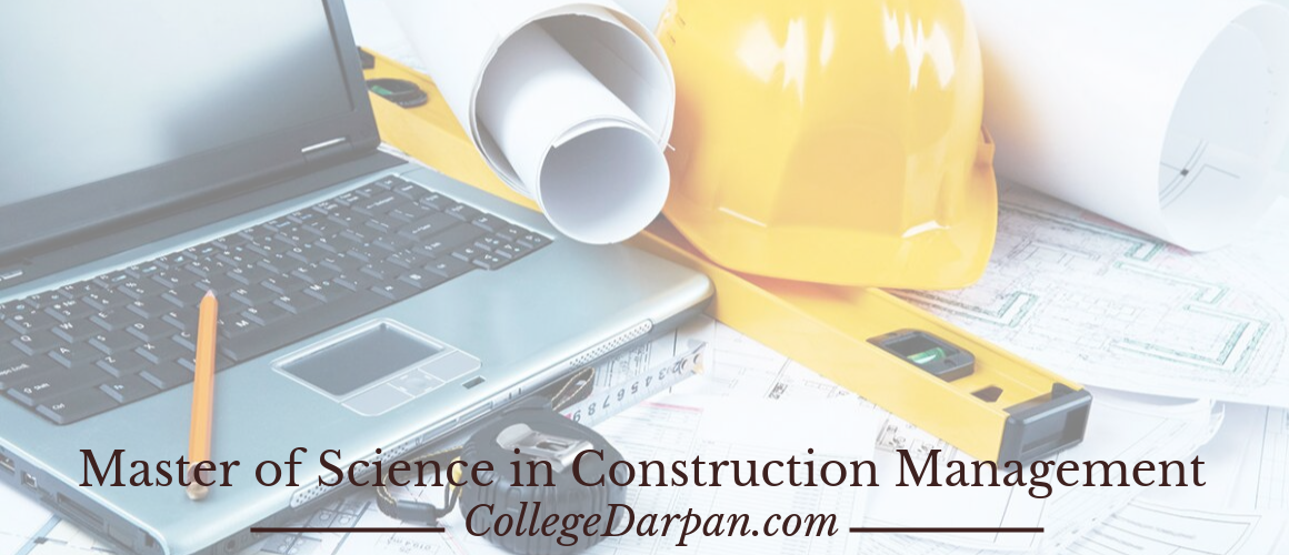 Master of Science in Construction Management
