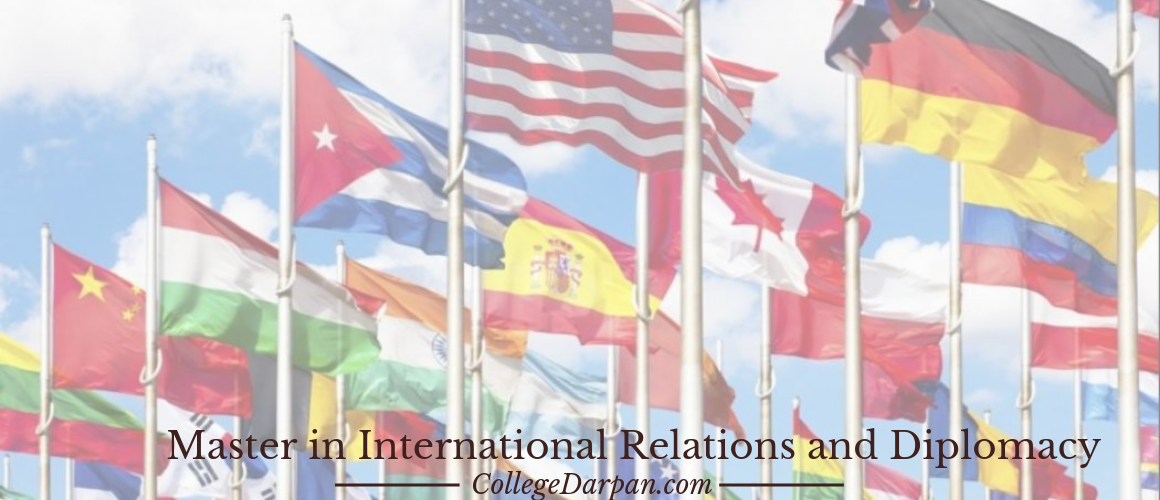 Master in International Relations and Diplomacy