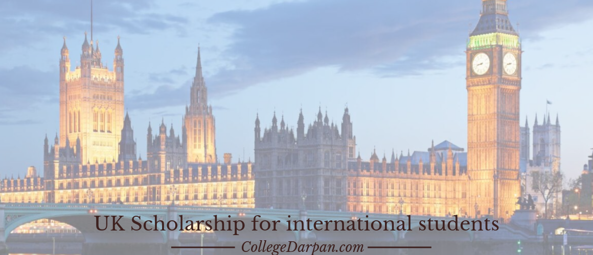 UK Scholarship for international students