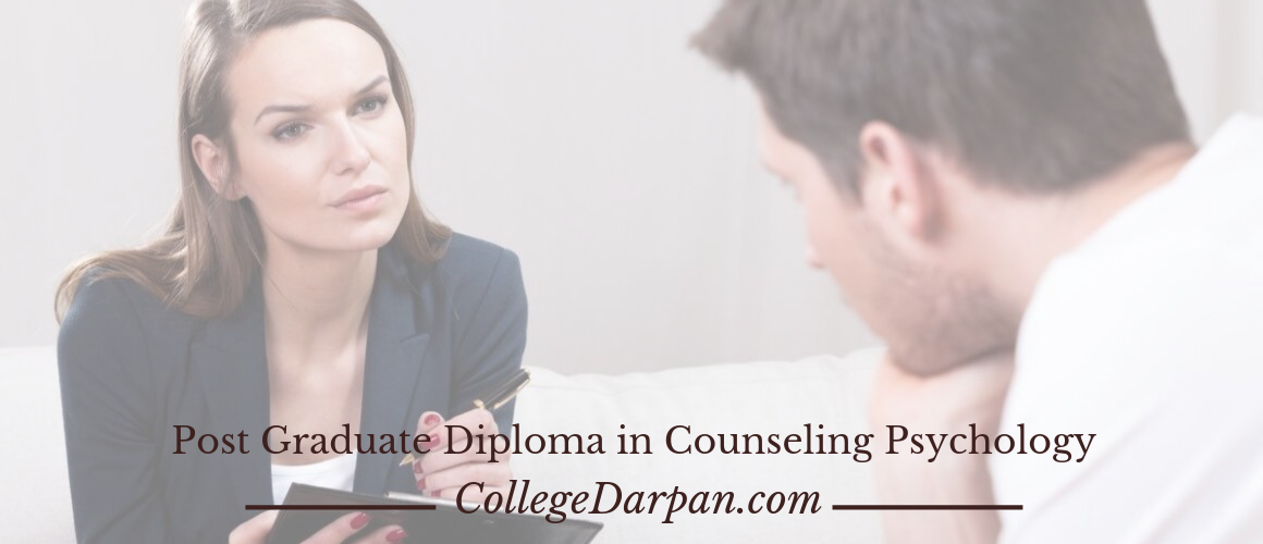 Post Graduate Diploma in Counseling Psychology