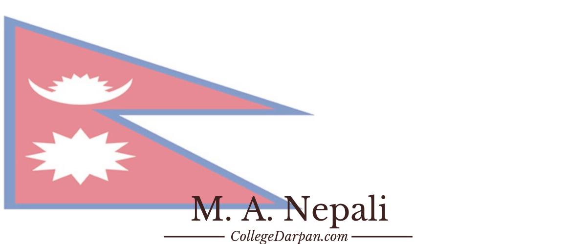 M. A. Nepali