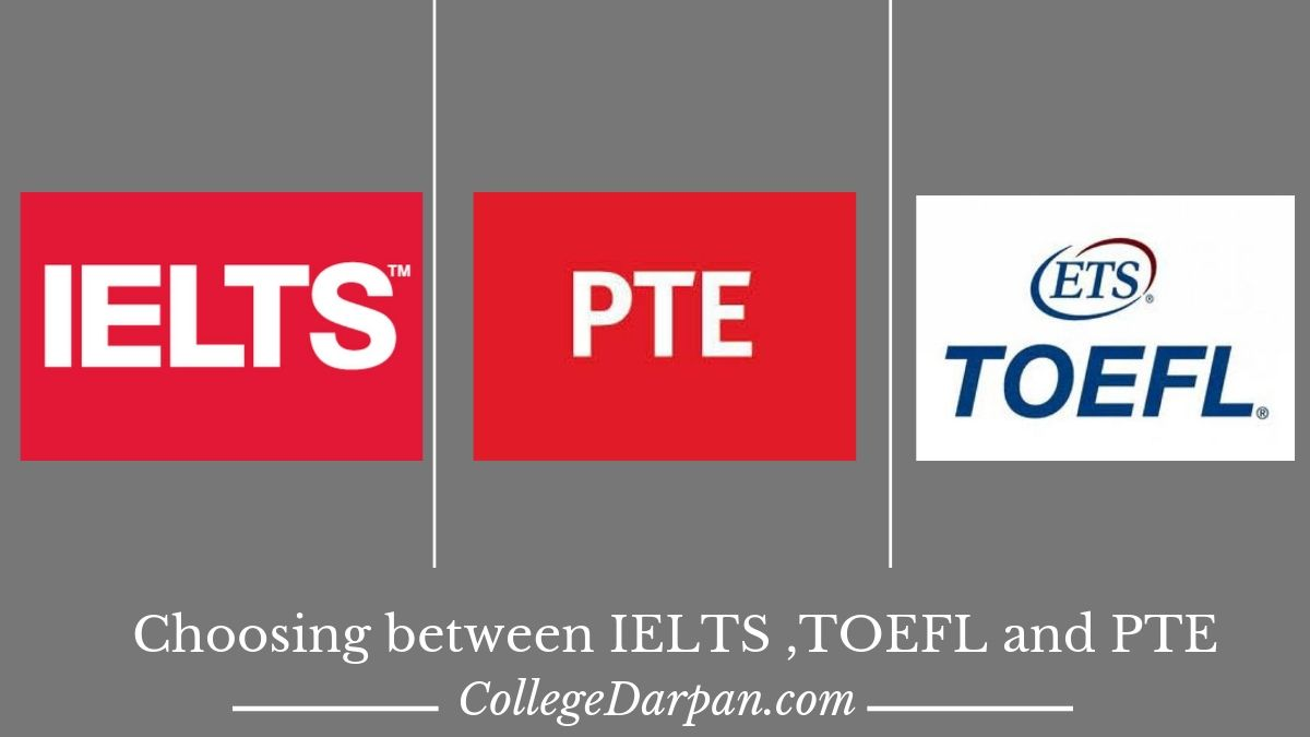 IELTS, TOEFL or PTE? Which one is best for you?
