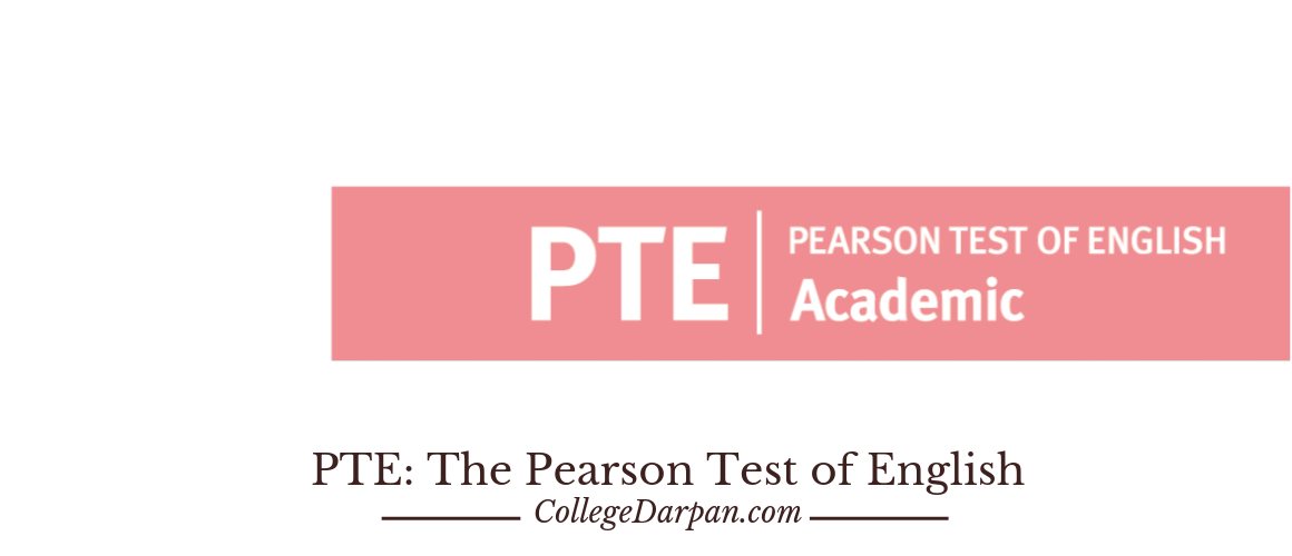 PTE: The Pearson Test of English