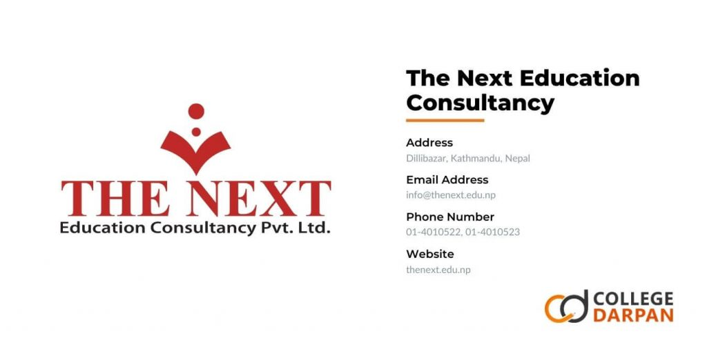 The Next Education Consultancy.