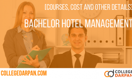 Bachelor of Hotel Management