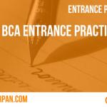 BCA Entrance Practice Quiz: Area